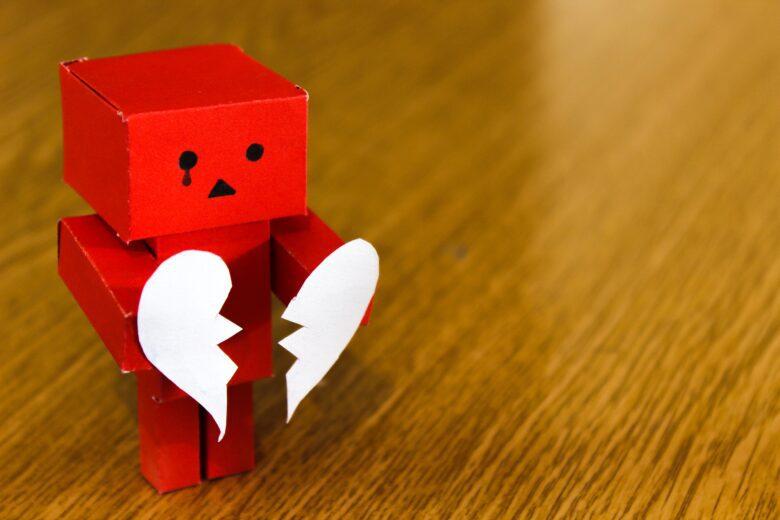heart broken moments